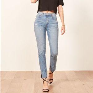 NWOT reformation Julia jeans